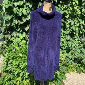 FREE PEOPLE Knit Sweater Dress, L